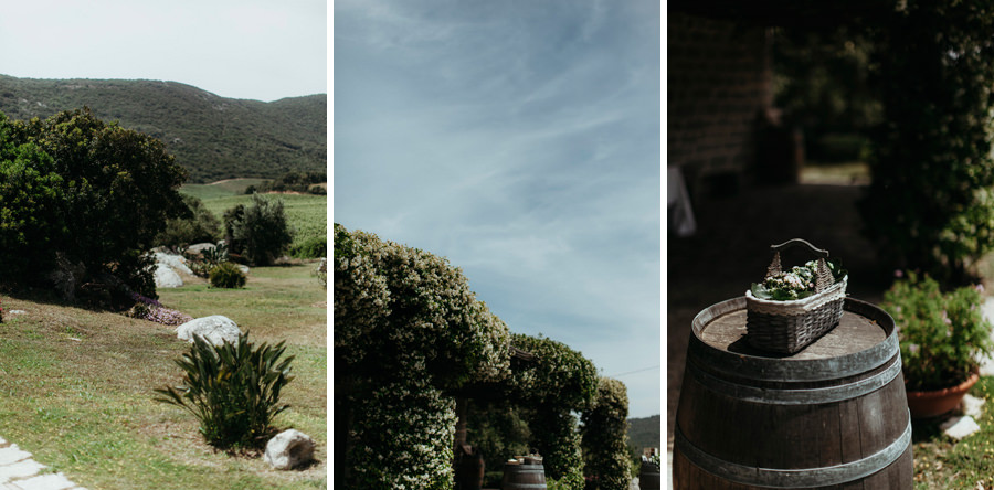 countryside sardinia wedding