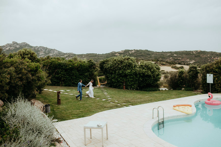 chic wedding sardinia