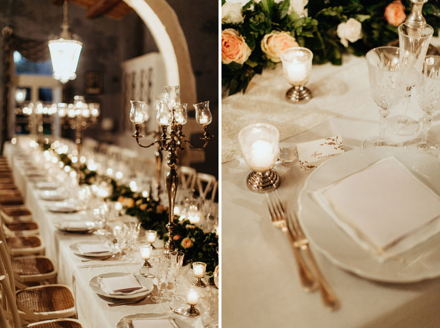 chic sicily wedding