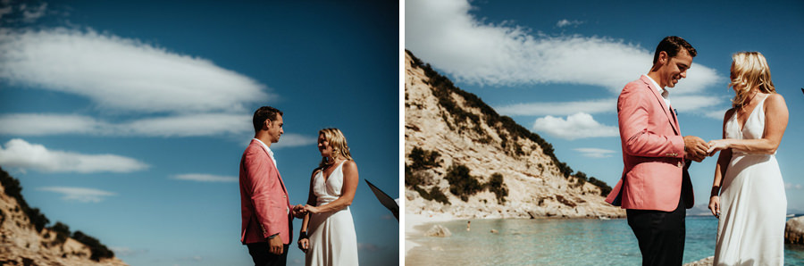 cala gonone wedding