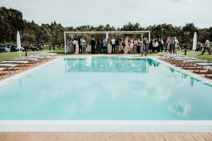 outdoor wedding sardinia