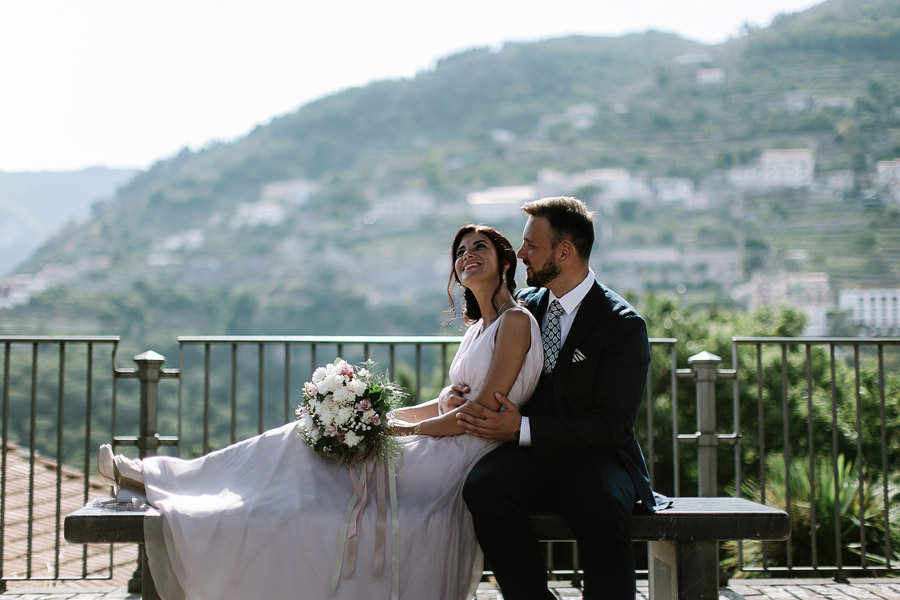 russian elopement ravello