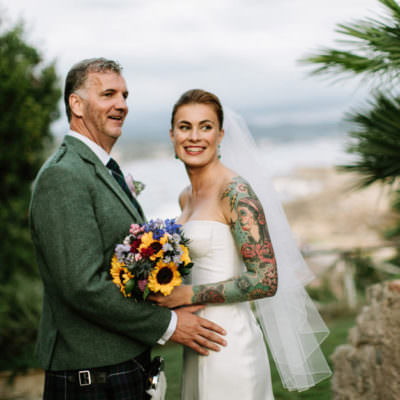 odescalchi castle wedding photographer - inka and gary