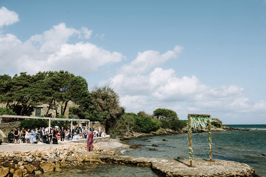 villa solenzana wedding