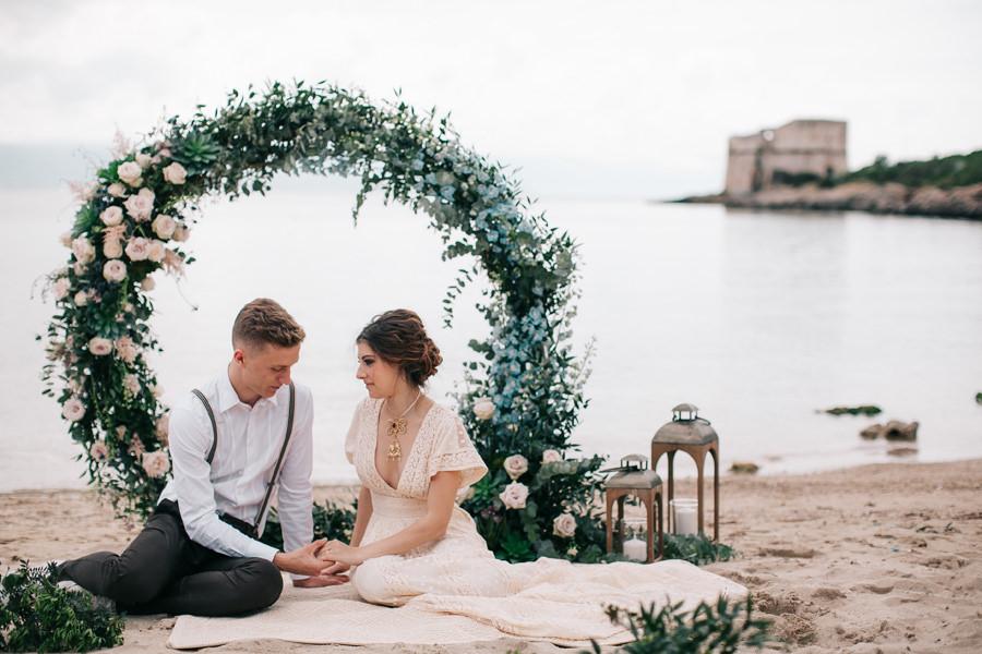 lazzaretto beach elopement