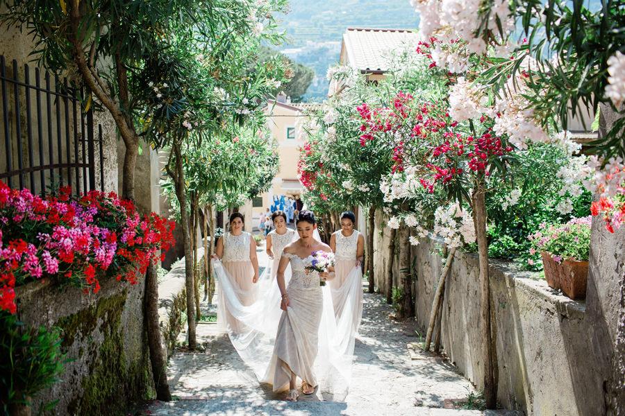 hotel caruso wedding